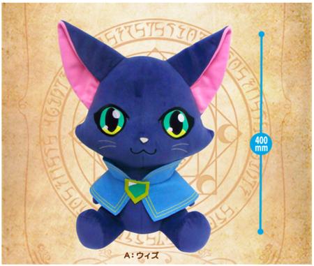 コロプラ、「クイズRPG 魔法使いと黒猫のウィズ」のグッズ展開を開始!2