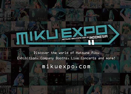 初音ミクを世界に発信! クリプトン・フューチャー・メディア、インドネシアにて「HATSUNE MIKU EXPO 2014 in Indonesia」を開催