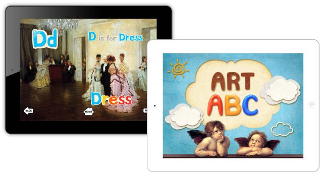 GKproject、名画で英語学習ができる幼児用英語学習アプリ「ART ABC HD」をリリース