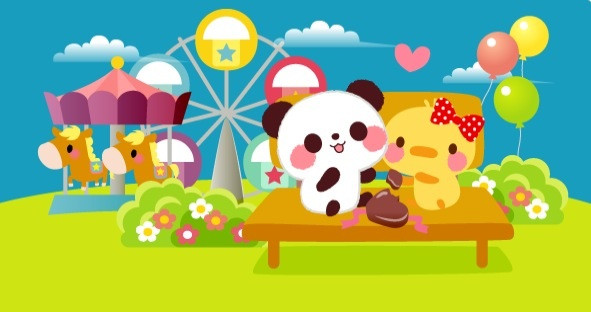カエルエックス、中国最大のメッセージングアプリ「WeChat」にバレンタインデー向けスタンプ「Nico and Mel」を提供1