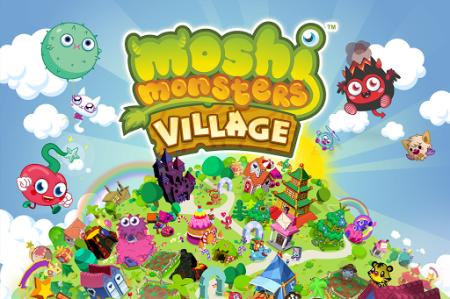 グローバル版GREE、イギリスの人気2D仮想空間「Moshi Monsters」のソーシャルゲーム版「Moshi Monsters Village」をリリース1