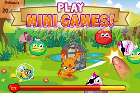グローバル版GREE、イギリスの人気2D仮想空間「Moshi Monsters」のソーシャルゲーム版「Moshi Monsters Village」をリリース2