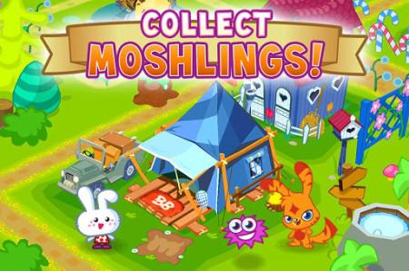 グローバル版GREE、イギリスの人気2D仮想空間「Moshi Monsters」のソーシャルゲーム版「Moshi Monsters Village」をリリース3