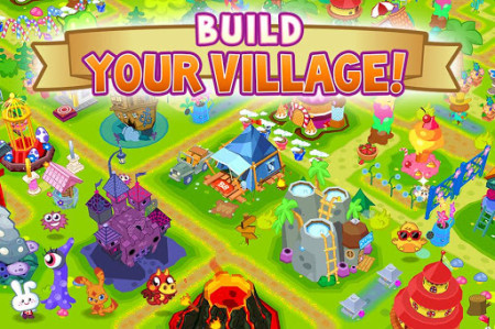 グローバル版GREE、イギリスの人気2D仮想空間「Moshi Monsters」のソーシャルゲーム版「Moshi Monsters Village」をリリース4
