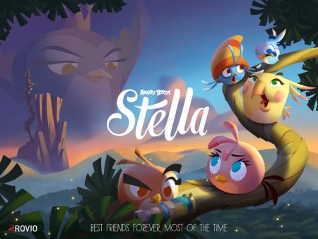 ピンクの小鳥「Stella」が独立 Rovio、Angry Birdsシリーズのスピンオフ・タイトル「Angry Birds: Stella」を発表 グッズ展開も視野に