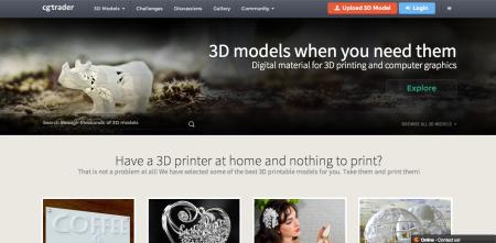 Intel、3Dプリント用のデータ共有サイト「makexyz」と「CGTrader」に出資2