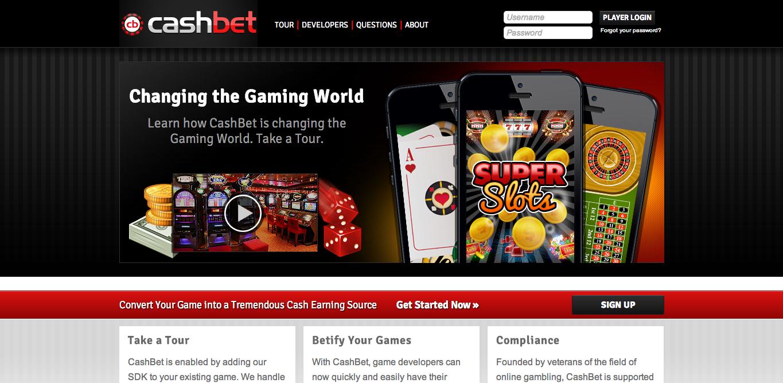 オンラインギャンブルのCashBet、170万ドルを調達しスマホ向けギャンブルゲームプラットフォームを構築