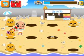 コトブキソリューション、尼崎市の「ちっちゃいおっさん」のAndroid向けゲーム「ちっちゃいおっさんのモグラたたき」をリリース2