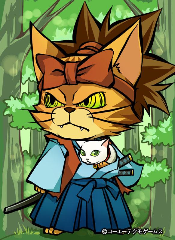 コーエーテクモゲームス、ソーシャル戦国シミュレーションゲーム「のぶニャがの野望」にて「猫侍」とコラボ1