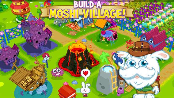 GREE版終了から約1年…イギリスの人気2D仮想空間「Moshi Monsters」のスマホ向けソーシャルゲーム「Moshi Monsters Village」が復活1