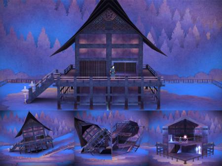 「飛び出す絵本」を完全再現した超美麗純和風アドベンチャーゲーム「TENGAMI」、2/20にiOS版をリリース決定!3