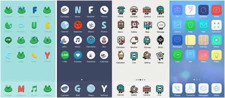 """LINEも""""きせかえ""""に参入! スマホ向けきせかえアプリ「LINE DECO」をリリース2"""