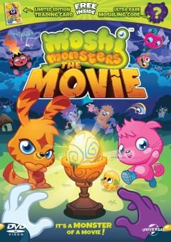 イギリスの人気子供向け仮想空間「Moshi Monsters」、映画DVDを4/14にリリース