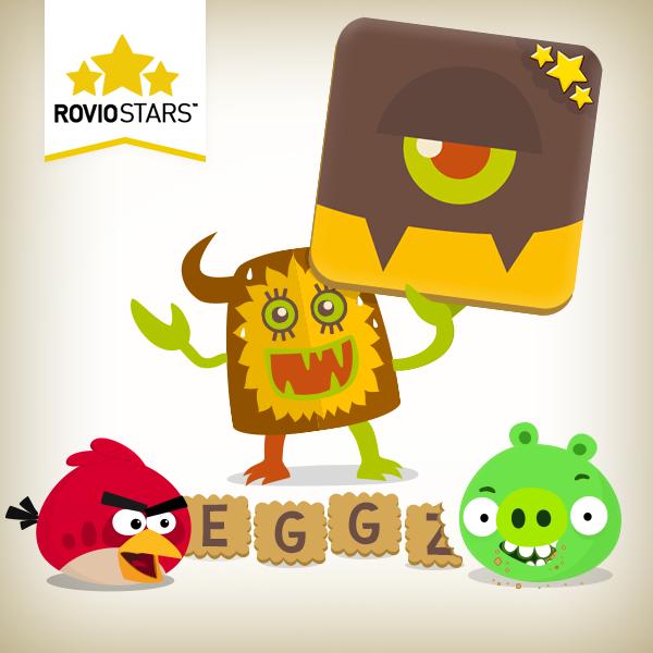 Rovio、パブリッシング事業「Rovio Stars」の最新タイトルとしてiOS向け単語ゲーム「Word Monsters」をリリース
