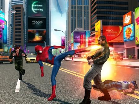 ゲームロフトとマーベル、映画「アメイジング・スパイダーマン2」の公式スマホゲームを配信決定3