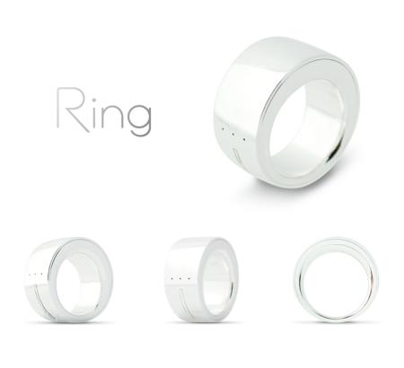 ログバー、全てを指一本で操作できる指輪型ウェアラブルデバイス「Ring (リング)」の開発資金をKickstarterで収集 公開後1日半で目標額を達成2
