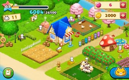 コロプラ、島づくりシミュレーションゲーム「ほしの島のにゃんこ」を全世界で配信2