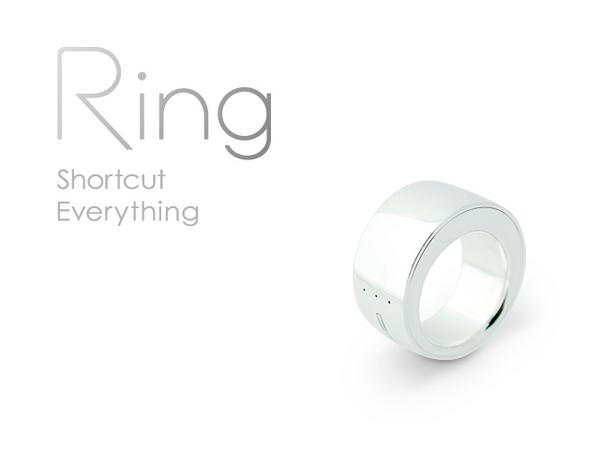 ログバー、全てを指一本で操作できる指輪型ウェアラブルデバイス「Ring (リング)」の開発資金をKickstarterで収集 公開後1日半で目標額を達成