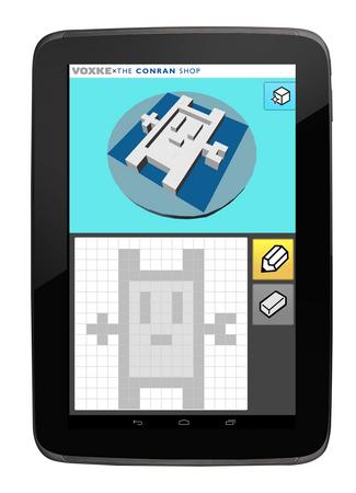カブク、ザ・コンランショップにてお絵かきアプリ「ボクスケ」を使用した3Dプリンタ体験イベントを開催1
