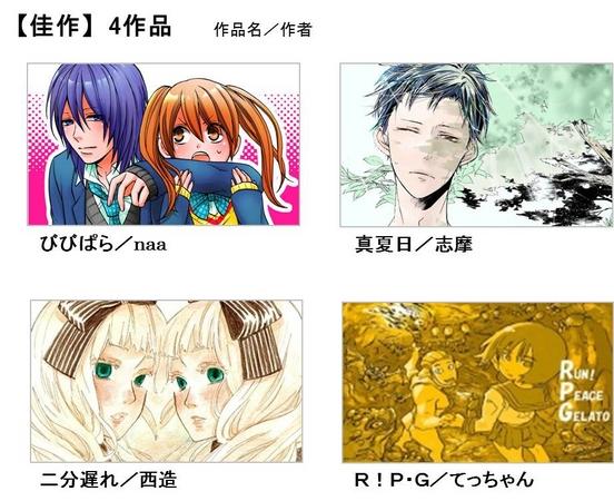 NHN PlayArt、電子コミックサービス「comico」にて「第1回作品投稿コンテスト」の受賞作品を発表