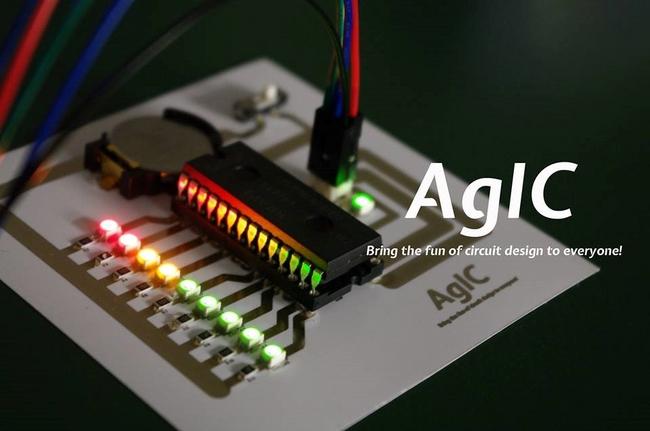 東大発ベンチャーのAgIC、家庭用プリンタで作れる電子回路作成キット「AgIC Print」の開発資金をKickstarterで募集中1