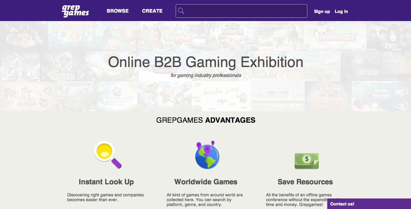 グレップゲームズ、ゲームディベロッパーとパブリッシャーを結ぶサービス「Grepgames」のβ版を提供開始
