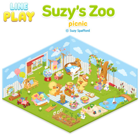 ソニー・デジタルエンタテインメント・サービス、LINE Playにて「スージー・ズー」の公式ルーム第2弾を提供2