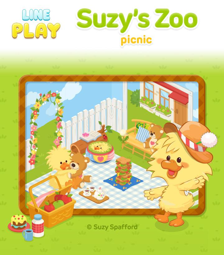 ソニー・デジタルエンタテインメント・サービス、LINE Playにて「スージー・ズー」の公式ルーム第2弾を提供1