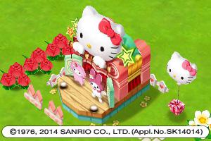 WeMade Online、スマホ向け島育成ゲーム「ロリポップ☆あいらんど」にてハローキティとコラボ3