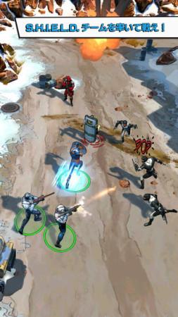 ゲームロフトとマーベル、映画「キャプテン・アメリカ/ウィンター・ソルジャー」の公式スマホゲームをリリース1