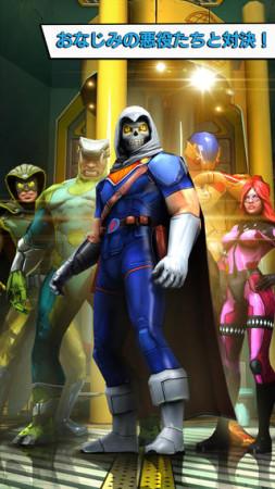 ゲームロフトとマーベル、映画「キャプテン・アメリカ/ウィンター・ソルジャー」の公式スマホゲームをリリース3