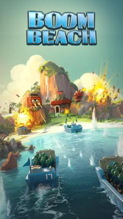 Supercell、スマホ向け最新タイトル「Boom Beach」を正式リリース 日本からもプレイ可能1