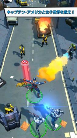 ゲームロフトとマーベル、映画「キャプテン・アメリカ/ウィンター・ソルジャー」の公式スマホゲームをリリース2