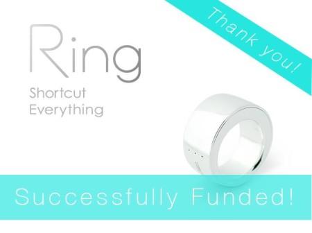ログバー、指輪型ウェアラブルデバイス「Ring (リング)」の開発資金をKickstarterで募集し約9100万円を調達