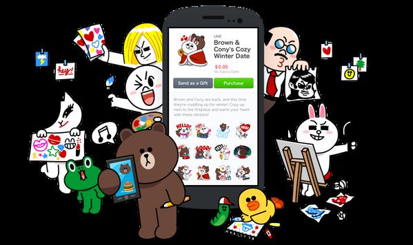 LINE、ユーザーが制作したスタンプを販売できるプラットフォーム「LINE Creators Market」の登録受付を開始1