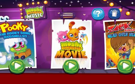 イギリスの人気子供向け仮想空間「Moshi Monsters」、ミュージックビデオを集めたスマホ/タブレットアプリ「Moshi Monsters Music」をリリース2