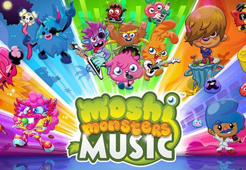 イギリスの人気子供向け仮想空間「Moshi Monsters」、ミュージックビデオを集めたスマホ/タブレットアプリ「Moshi Monsters Music」をリリース1