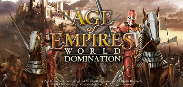 KLabが名作RTS「Age of Empires」シリーズのスマホ向け最新作「Age of Empires: World Domination」のティザーサイトをオープン1