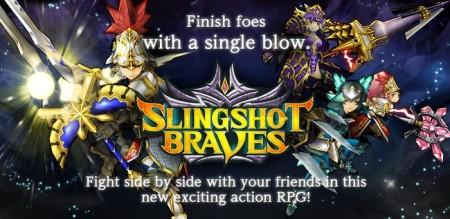 コロプラ、ひっぱりアクションRPG「スリングショットブレイブズ」を全世界で配信開始