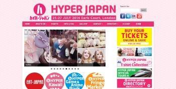 イギリス最大の日本文化の祭典「HYPER JAPAN 2014」、ロンドンにて7/25-27に開催