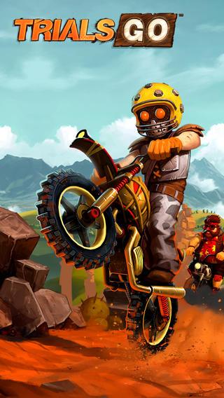 ユービーアイソフトのiOS向けレースアクションゲーム「トライアルズ ゴー」、リリースから1週間で600万ダウンロードを突破1