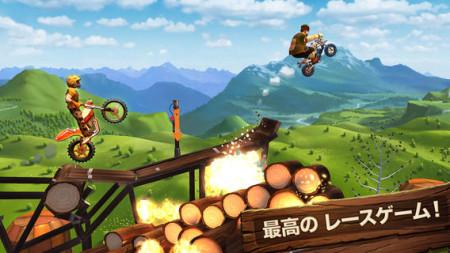 ユービーアイソフトのiOS向けレースアクションゲーム「トライアルズ ゴー」、リリースから1週間で600万ダウンロードを突破2