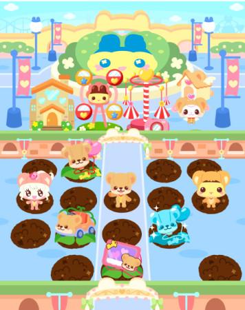 ソーシャルゲーム「ホッコリ!たまごっち~な」と「クマ・トモ」がコラボ2