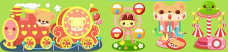 ソーシャルゲーム「ホッコリ!たまごっち~な」と「クマ・トモ」がコラボ3