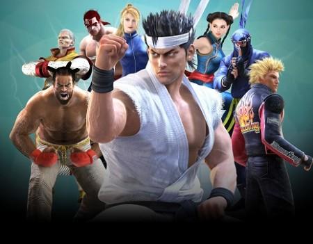 """セガら、""""バーチャファイター""""シリーズのスマホ向けソーシャルゲーム「Virtua Fighter FEVERCOMBO」を提供開始"""