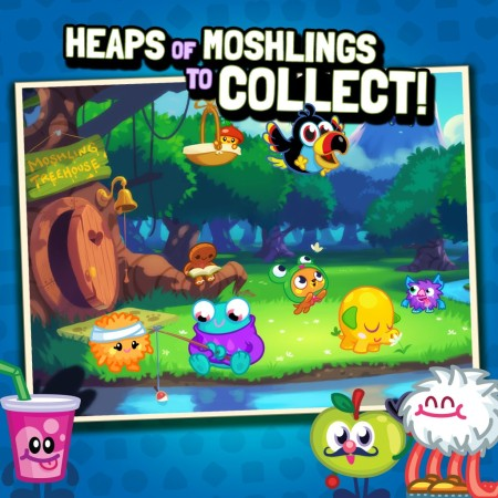 英Mind Candy、Facebookにて子供向け仮想空間「Moshi Monsters」をモチーフとしたパズルゲームを提供開始3