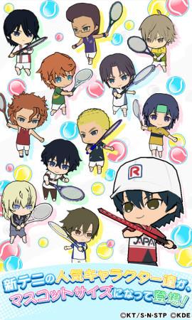 KONAMI、「新テニスの王子様」のスマホ向けパズルRPG「新テニスの王子様 パズル&テニス」をリリース2