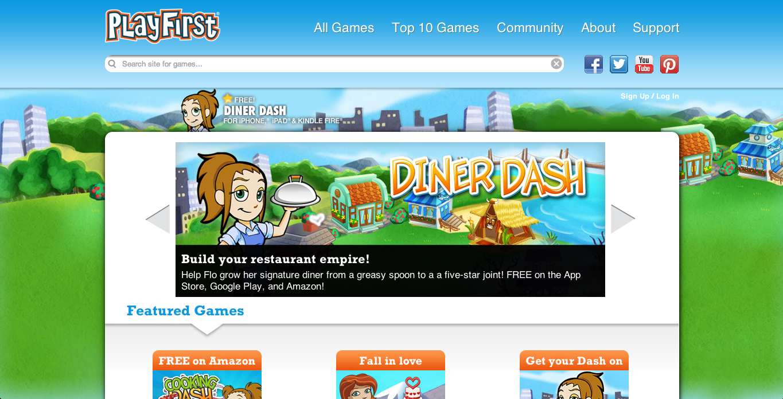 Glu Mobile、スマホ向けゲーム「Diner Dash」「Cooking Dash」などを提供するPlayFirstを買収