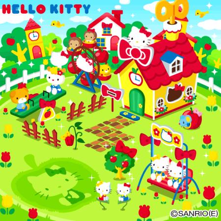 グリーのソーシャルゲーム「ハコニワ」、ハローキティとのコラボイベント「ハコニワmeetsHELLO KITTY」を実施3