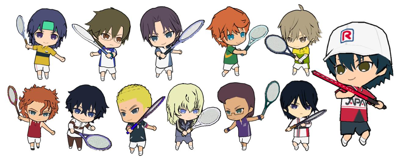 KONAMI、「新テニスの王子様」のスマホ向けパズルRPG「新テニスの王子様 パズル&テニス」をリリース1